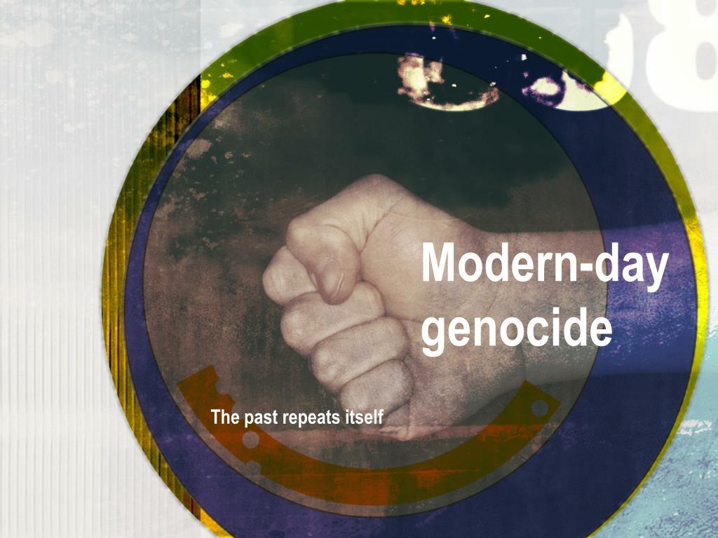 modern day genocide l.