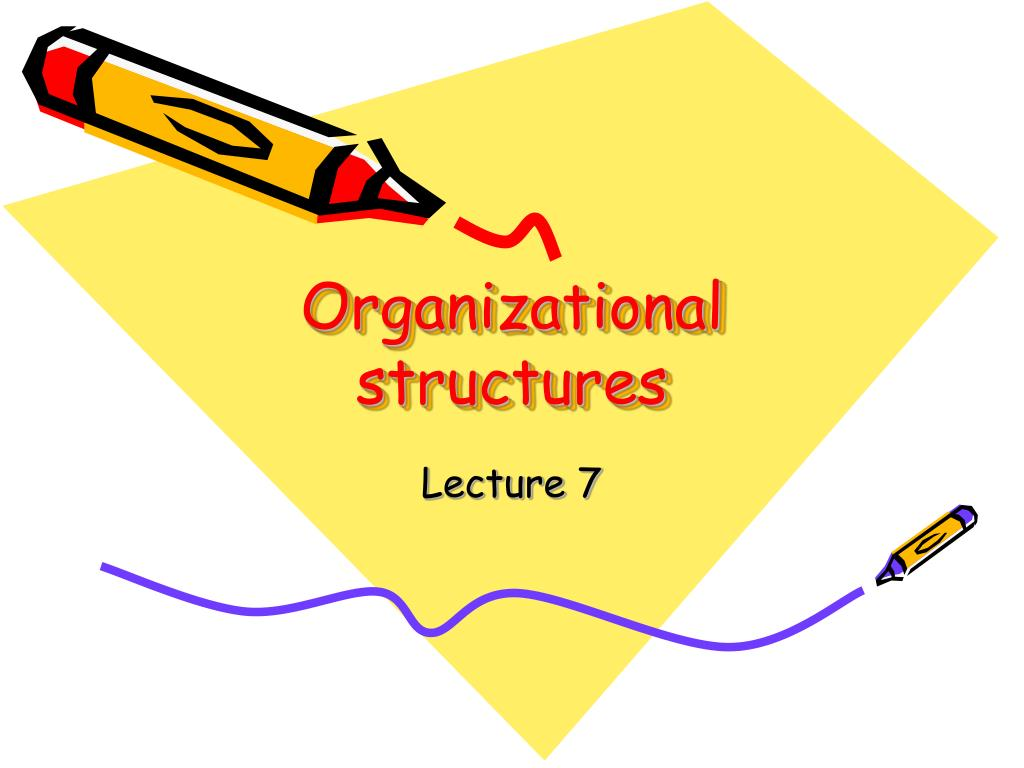 organizational structures l.