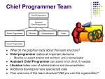chief programmer team