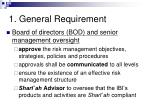 1 general requirement21