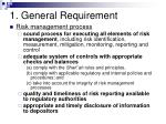 1 general requirement23