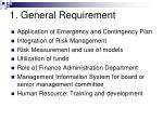 1 general requirement24