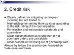 2 credit risk32