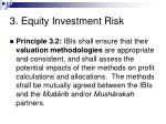 3 equity investment risk38