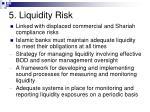 5 liquidity risk49