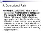 7 operational risk57