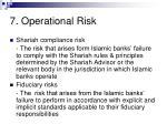 7 operational risk58