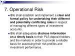 7 operational risk59
