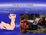 parts of a robot13