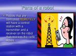parts of a robot16