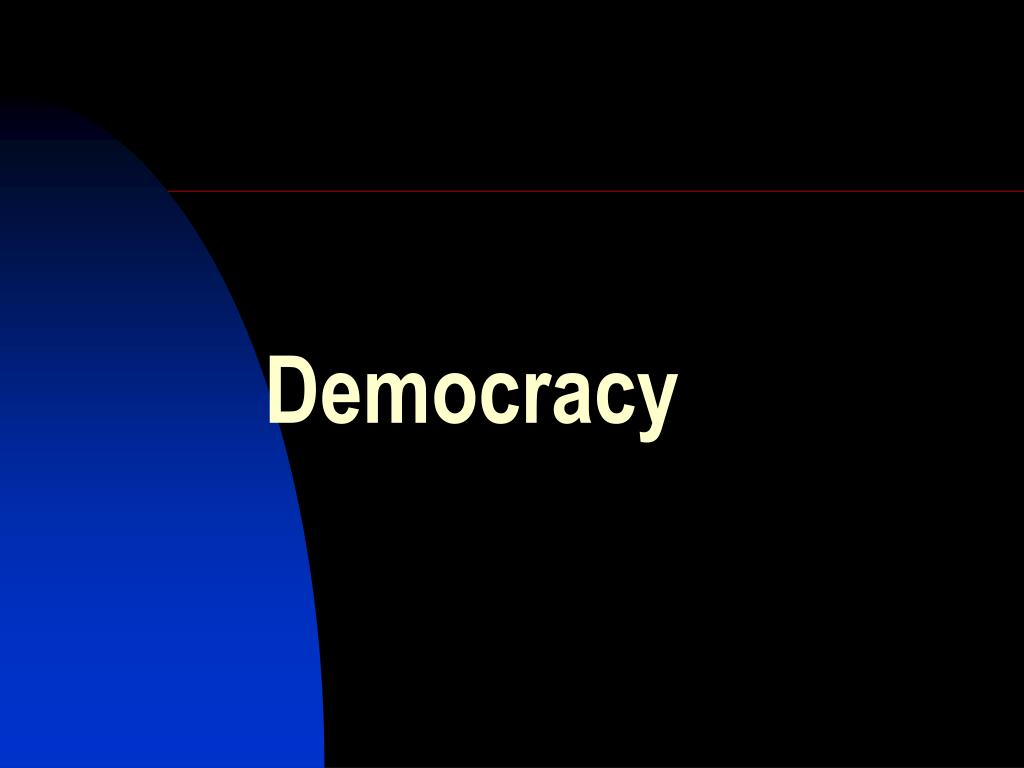 democracy l.