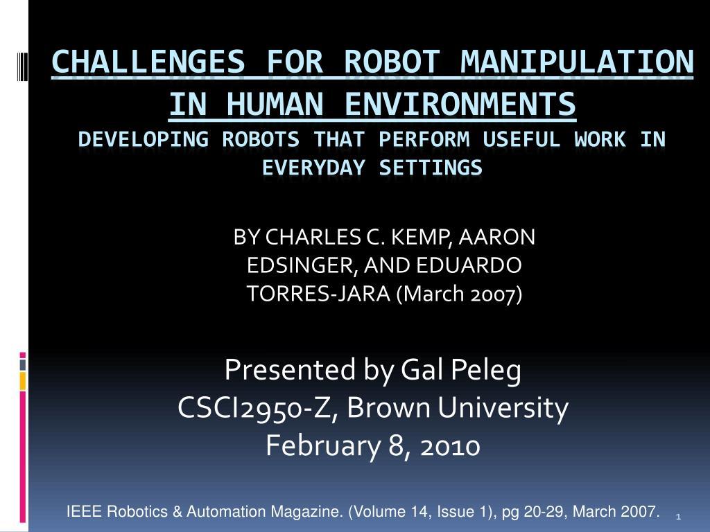 presented by gal peleg csci2950 z brown university february 8 2010 l.