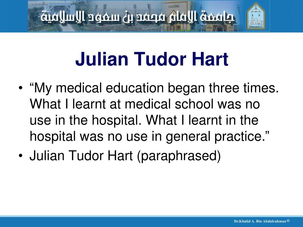 Julian Tudor Hart