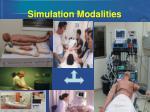 simulation modalities50