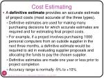 cost estimating3