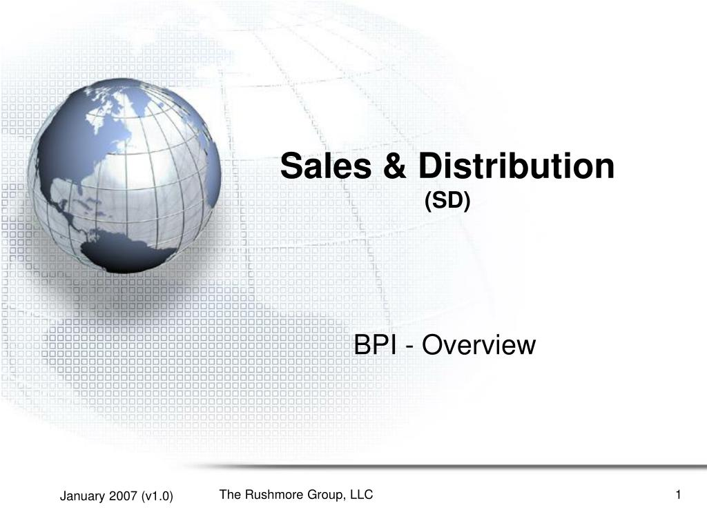 sales distribution sd l.