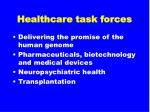 healthcare task forces18