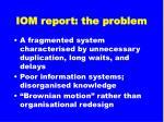 iom report the problem46