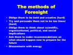 the methods of foresight14