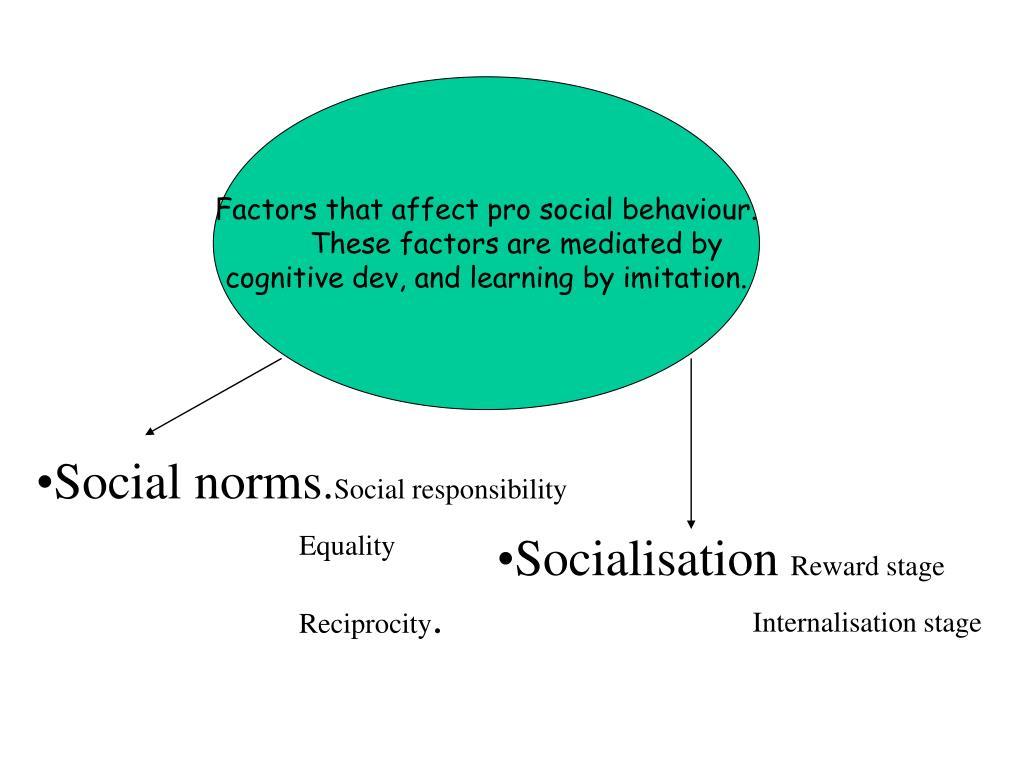 pro social behavior