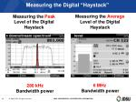 measuring the digital haystack23