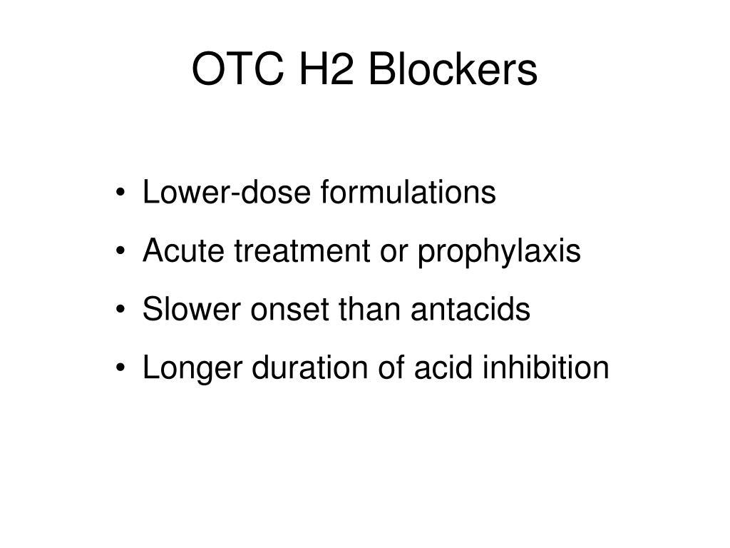 OTC H2 Blockers