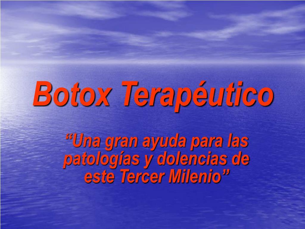 botox terap utico l.