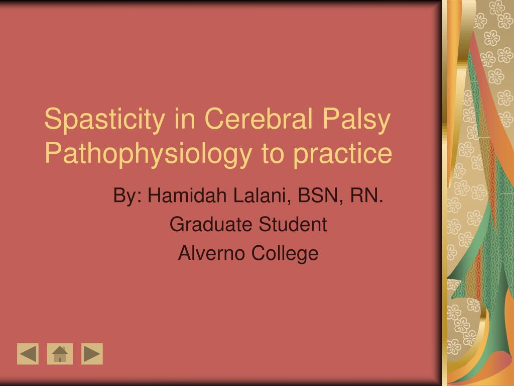spasticity in cerebral palsy pathophysiology to practice l.