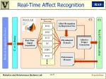 real time affect recognition