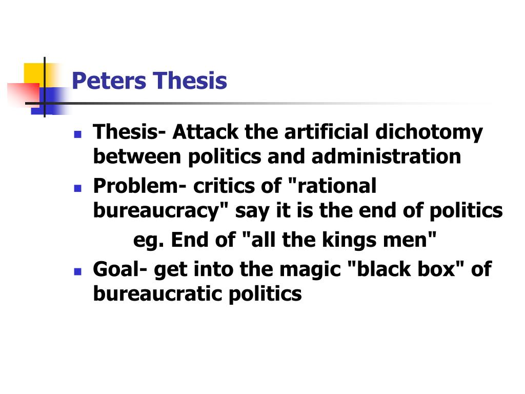 thesis topics in public administration I defining the topic 2 this thesis takes a holistic approach to public education in organizational changes and challenges of public administration in the.