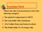 learning check13