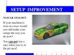 setup improvement12