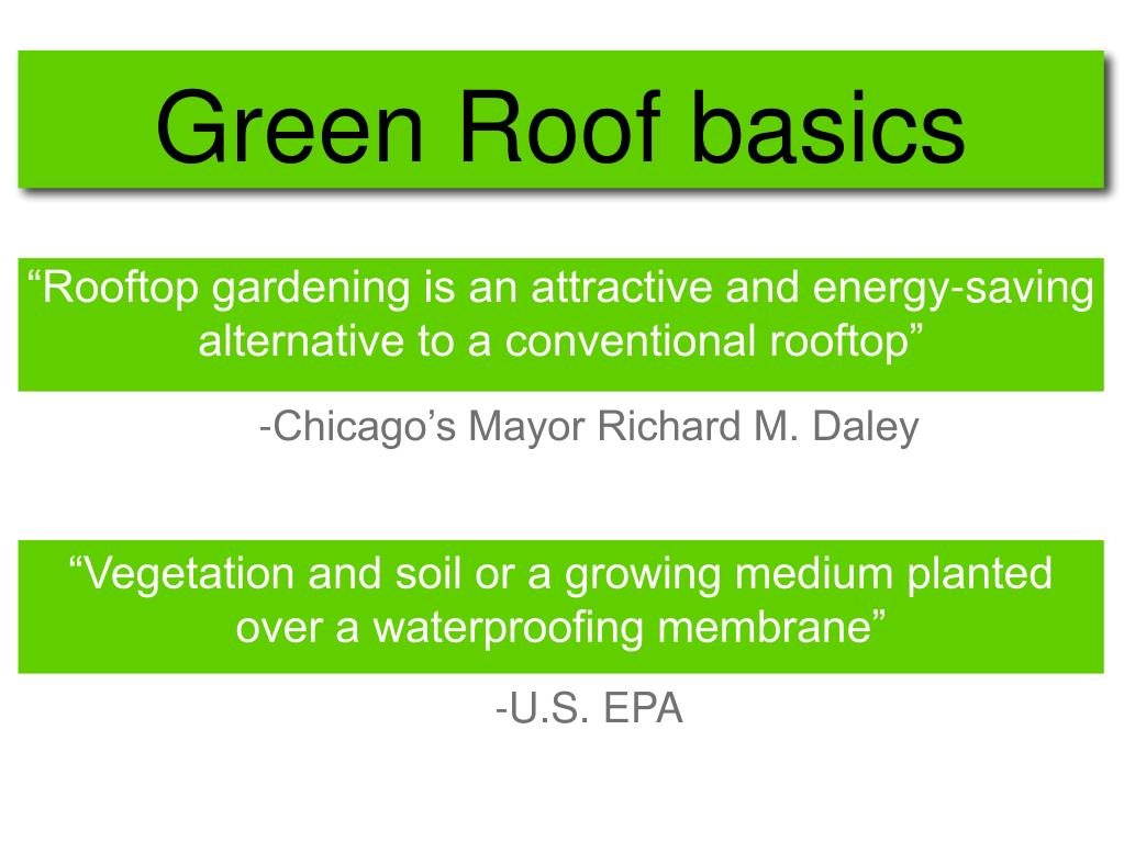 """""""Rooftop gardening is an attractive and energy-saving alternative to a conventional rooftop"""""""