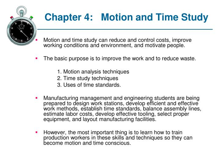 chapter 4 motion and time study n.