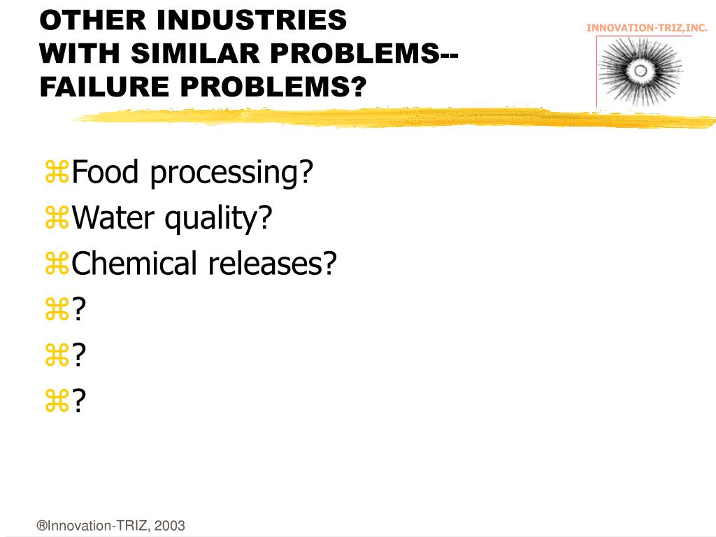OTHER INDUSTRIES