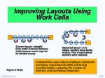 improving layouts using work cells1