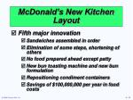mcdonald s new kitchen layout
