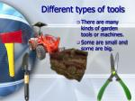 different types of tools