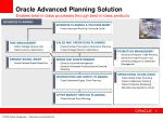 oracle advanced planning solution5