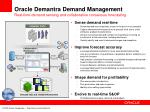 oracle demantra demand management