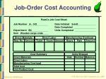 job order cost accounting10