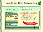 job order cost accounting11