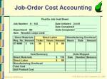 job order cost accounting17