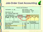 job order cost accounting19