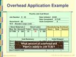 overhead application example26