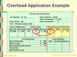 overhead application example27