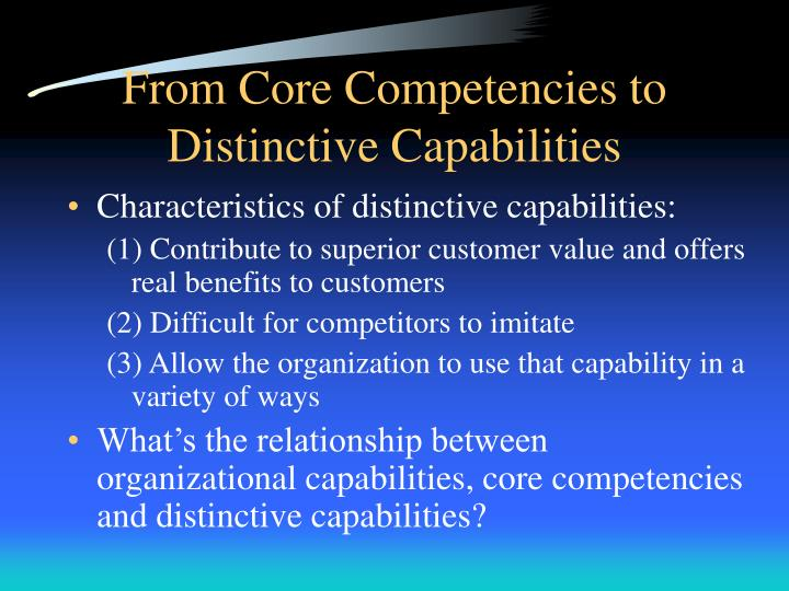 relationship between capabilities and core competencies Thispaperpresentsamodeloftherelationshipbetweencorecompetenceandcompetitive advantage  changingrelationshipbetween  core competenciesmaybe.