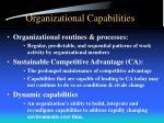 organizational capabilities1