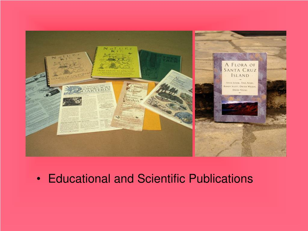 Educational and Scientific Publications