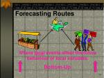 forecasting routes18